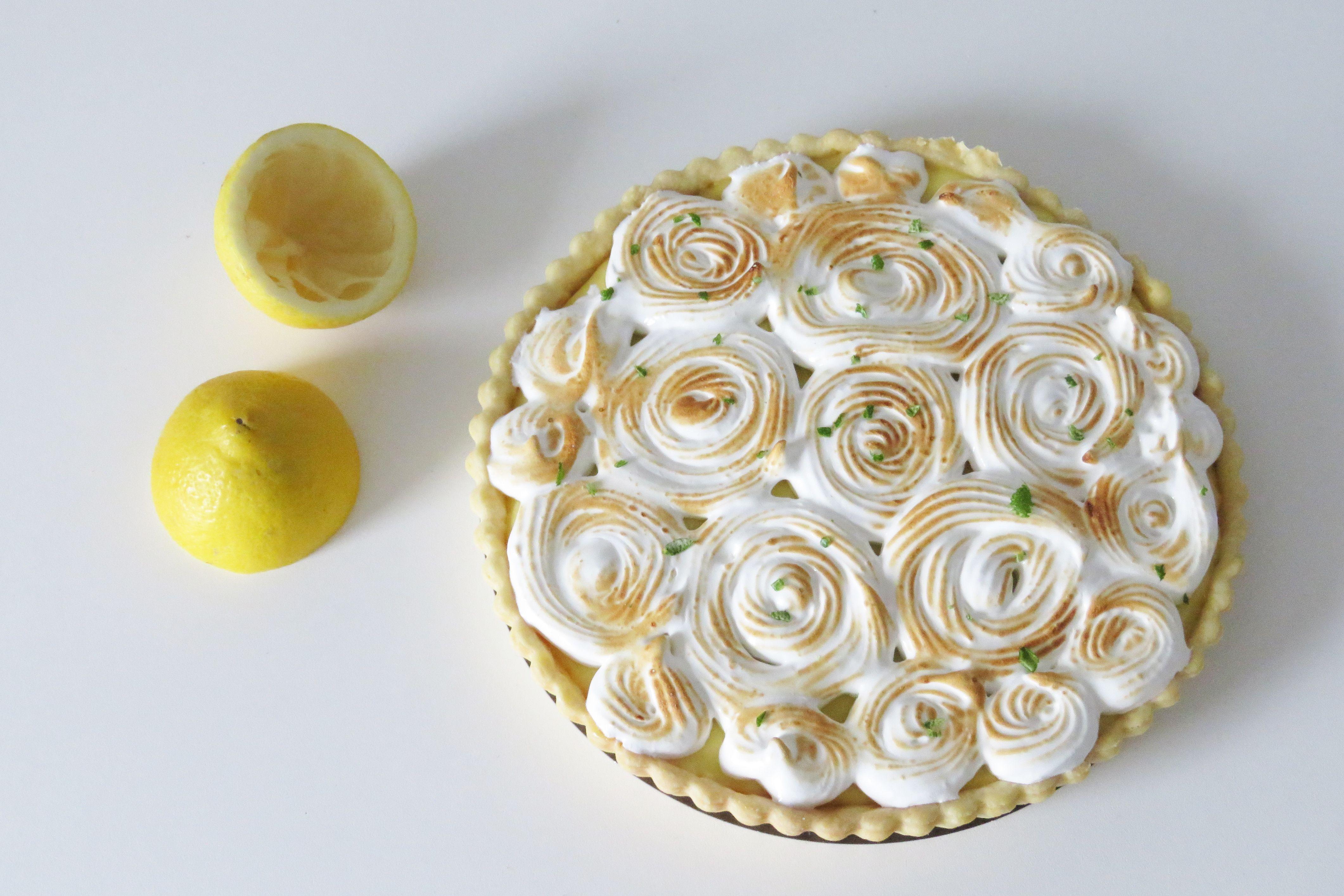 tarte au citron meringuée léa patisseries inspirées