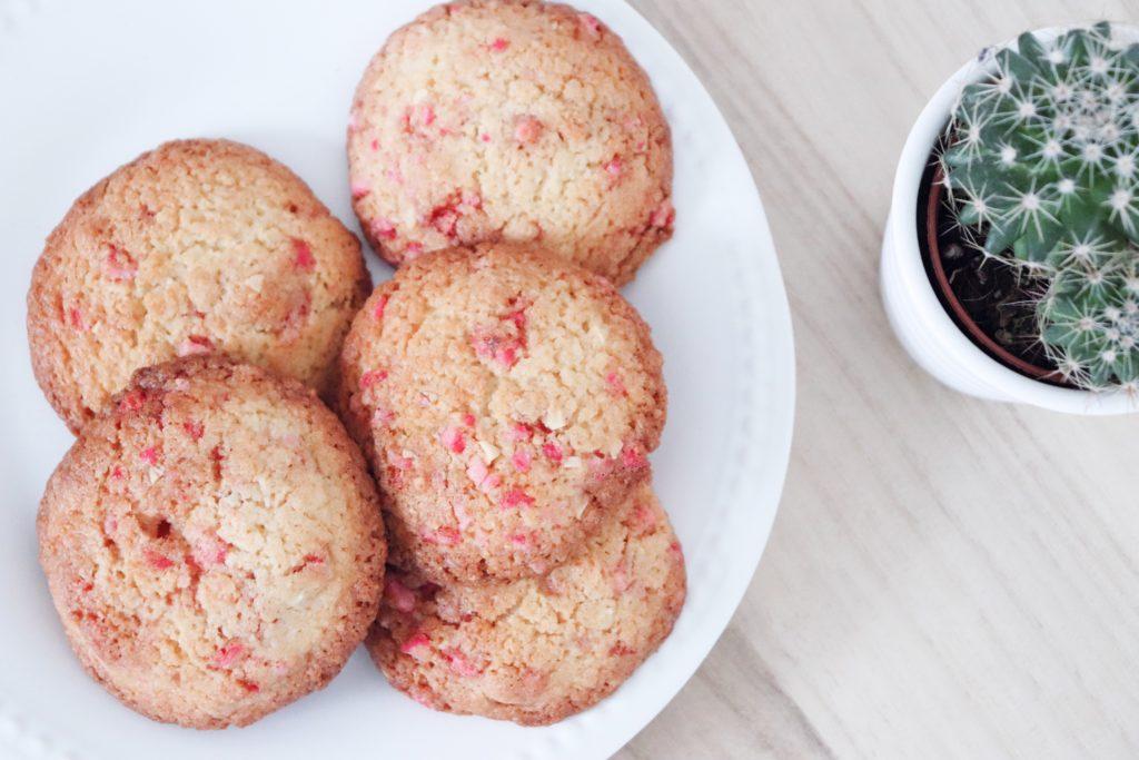 cookies aux pralines roses patisserie léa patisseries inspirées