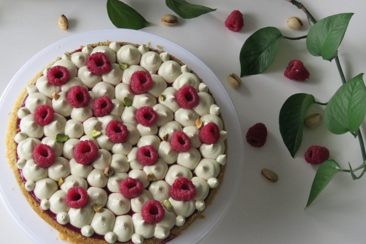 fantastik framboises pistache léa patisseries inspirées