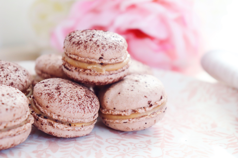 macarons chocolat dulcey léa patisseries inspirées