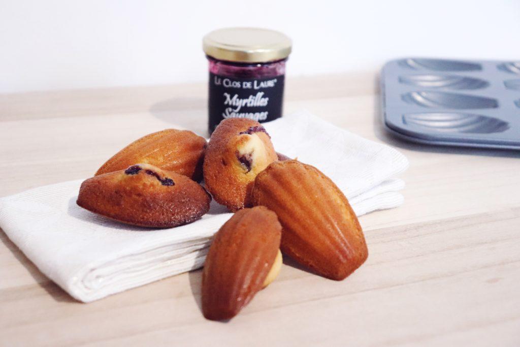 madeleines confiture recette patisserie léa patisseries inspirées