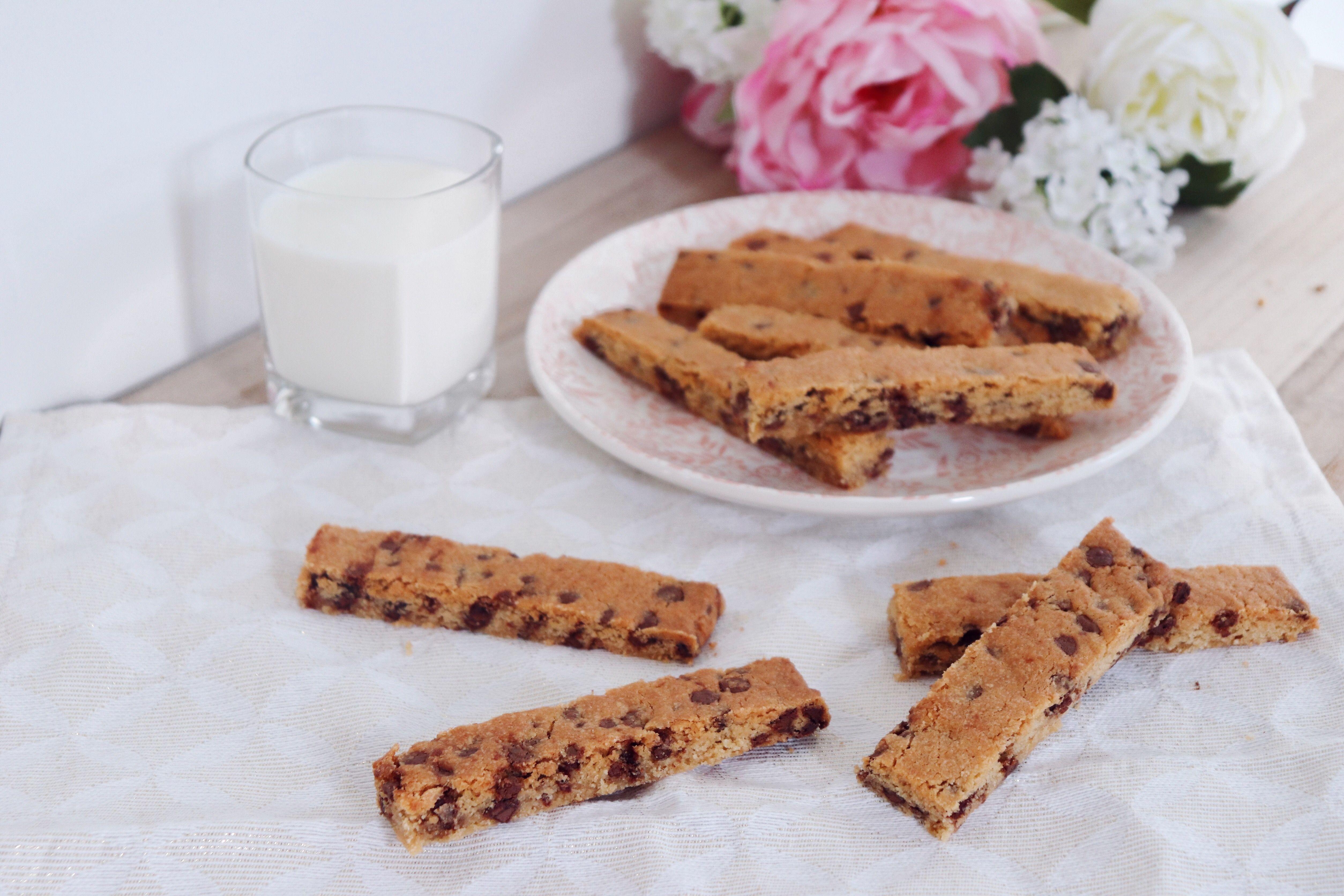 cookies sticks peanut butter recette pâtisserie léa pâtisseries inspirées