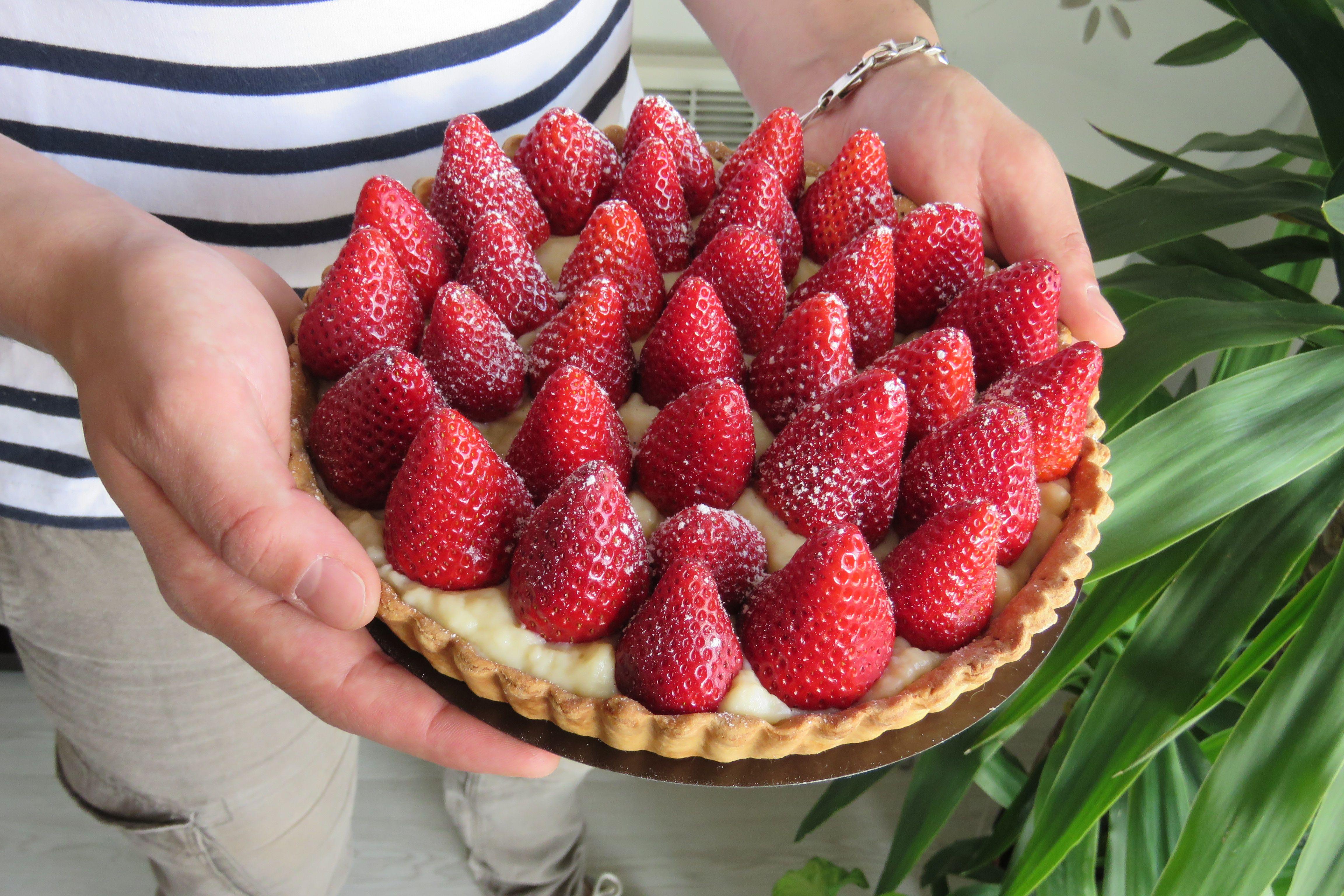 tarte aux fraises léa patisseries inspirées