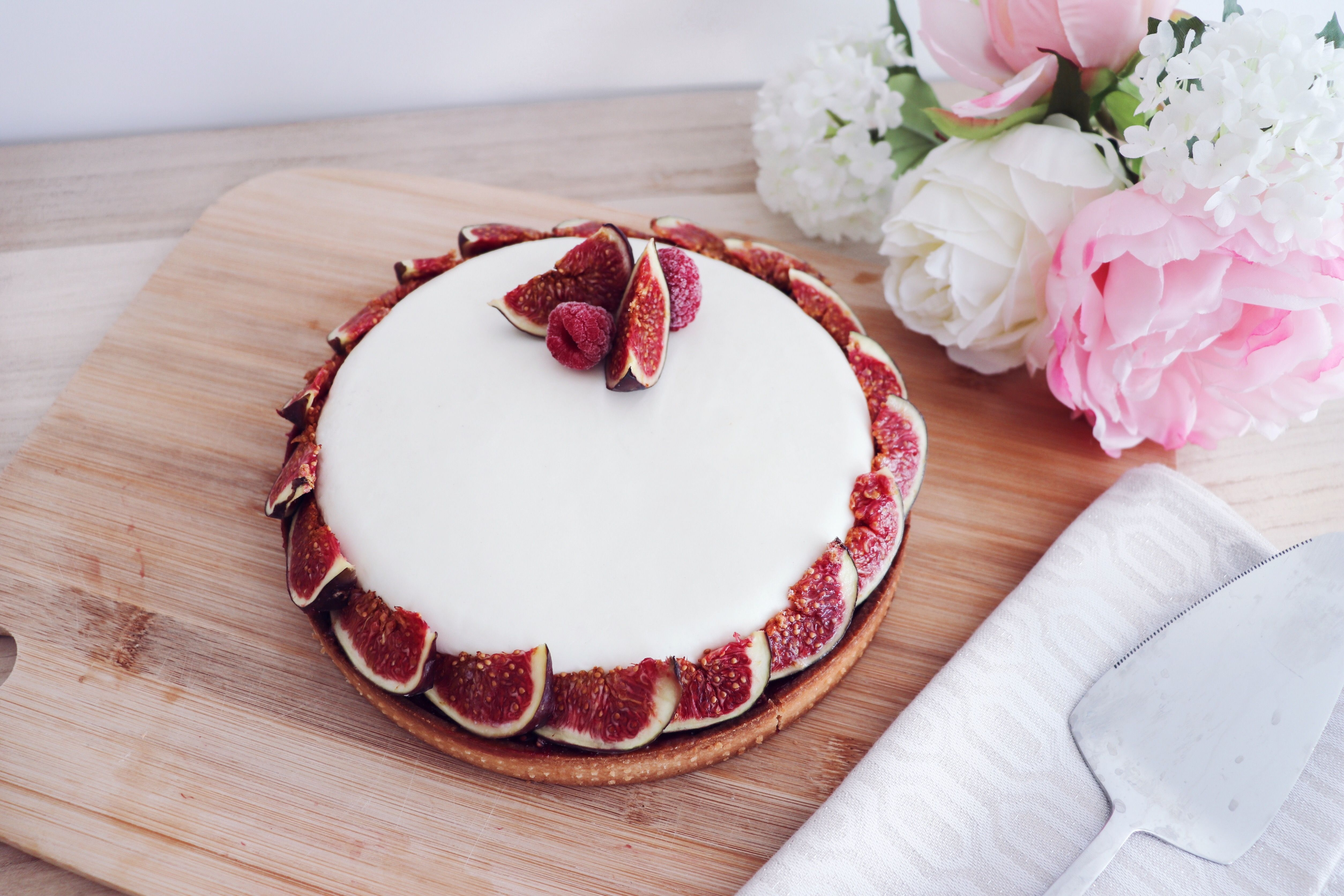 tarte figues framboises brebis recette patisserie léa patisseries inspirées