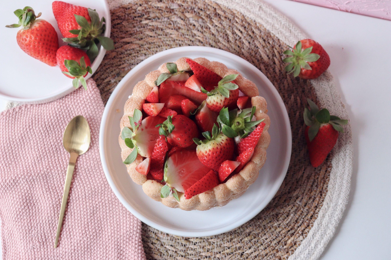 charlotte aux fraises entremet recette patisserie léa patisseries inspirées