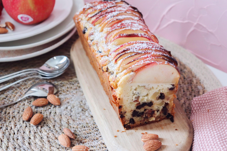 cake pomme chocolat amande recette patisserie léa patisseries inspirées