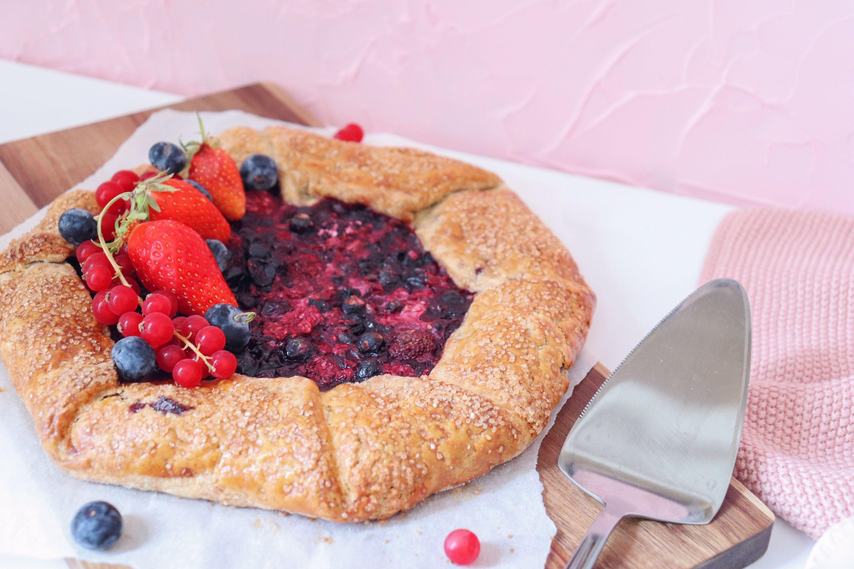 tarte rustique aux fruits rouges recette patisserie léa patisseries inspirées