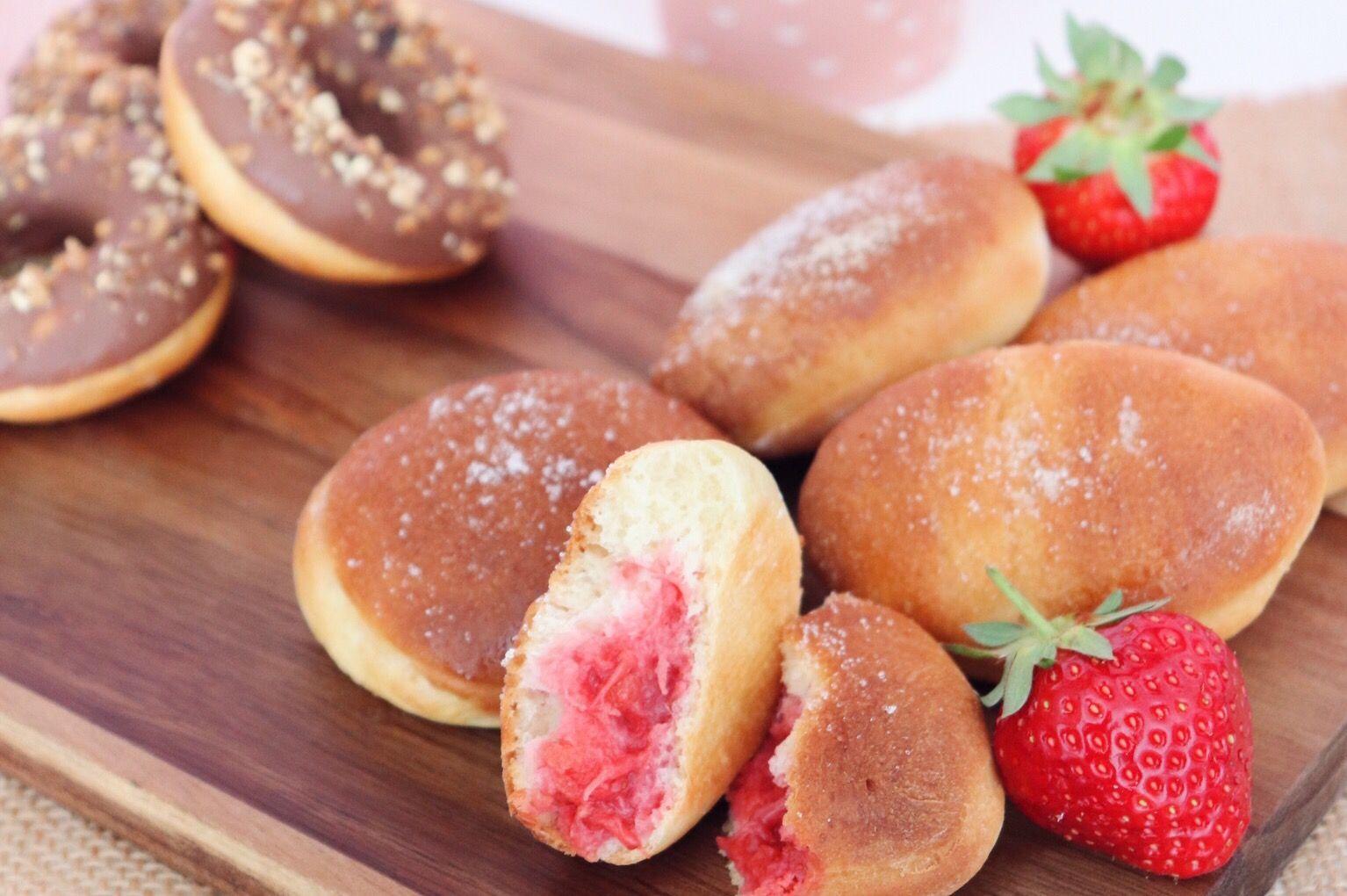 beignets à la fraise recette patisserie léa patisseries inspirées