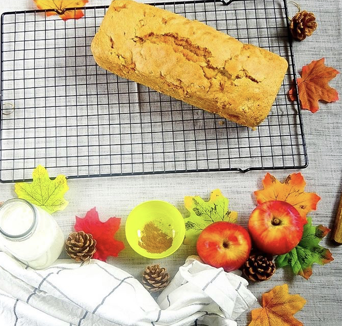 cake pommes noix cannelle recette patisserie léa patisseries inspirées