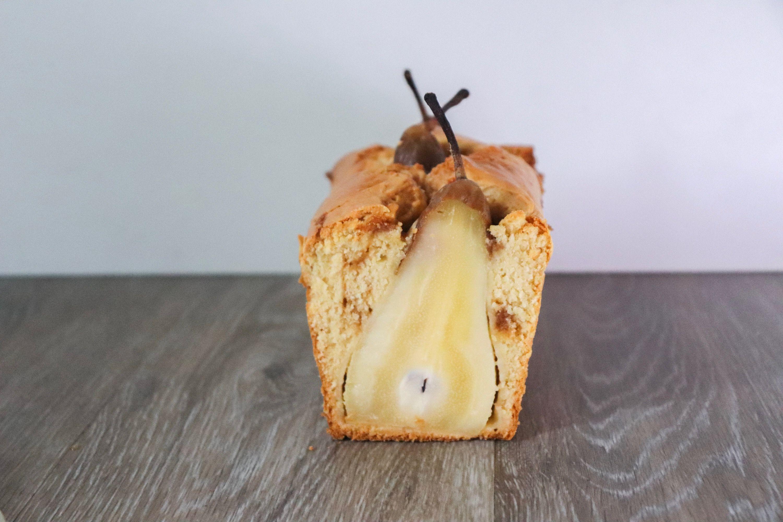 cake poire caramel recette patisserie léa patisseries inspirées