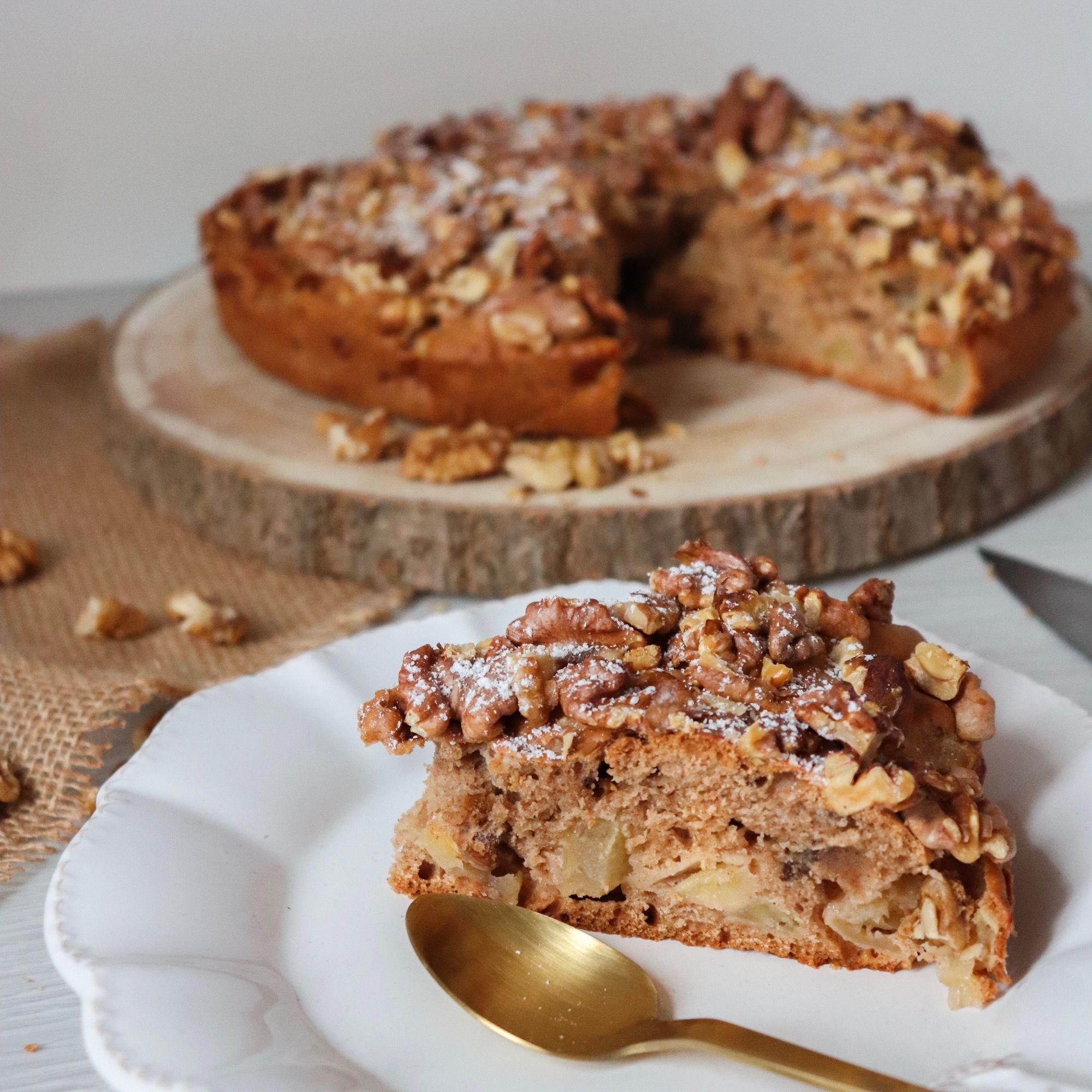 gateau pommes noix cannelle recette patisserie léa patisseries inspirées
