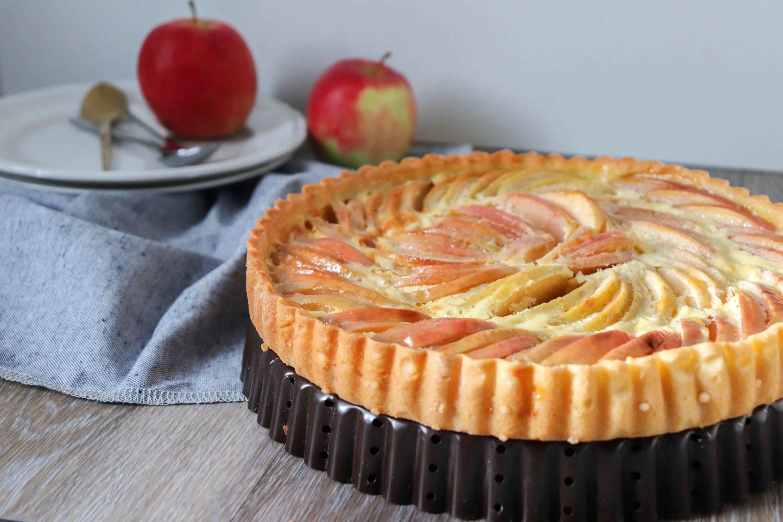 tarte normande aux pommes recette patisserie léa patisseries inspirées
