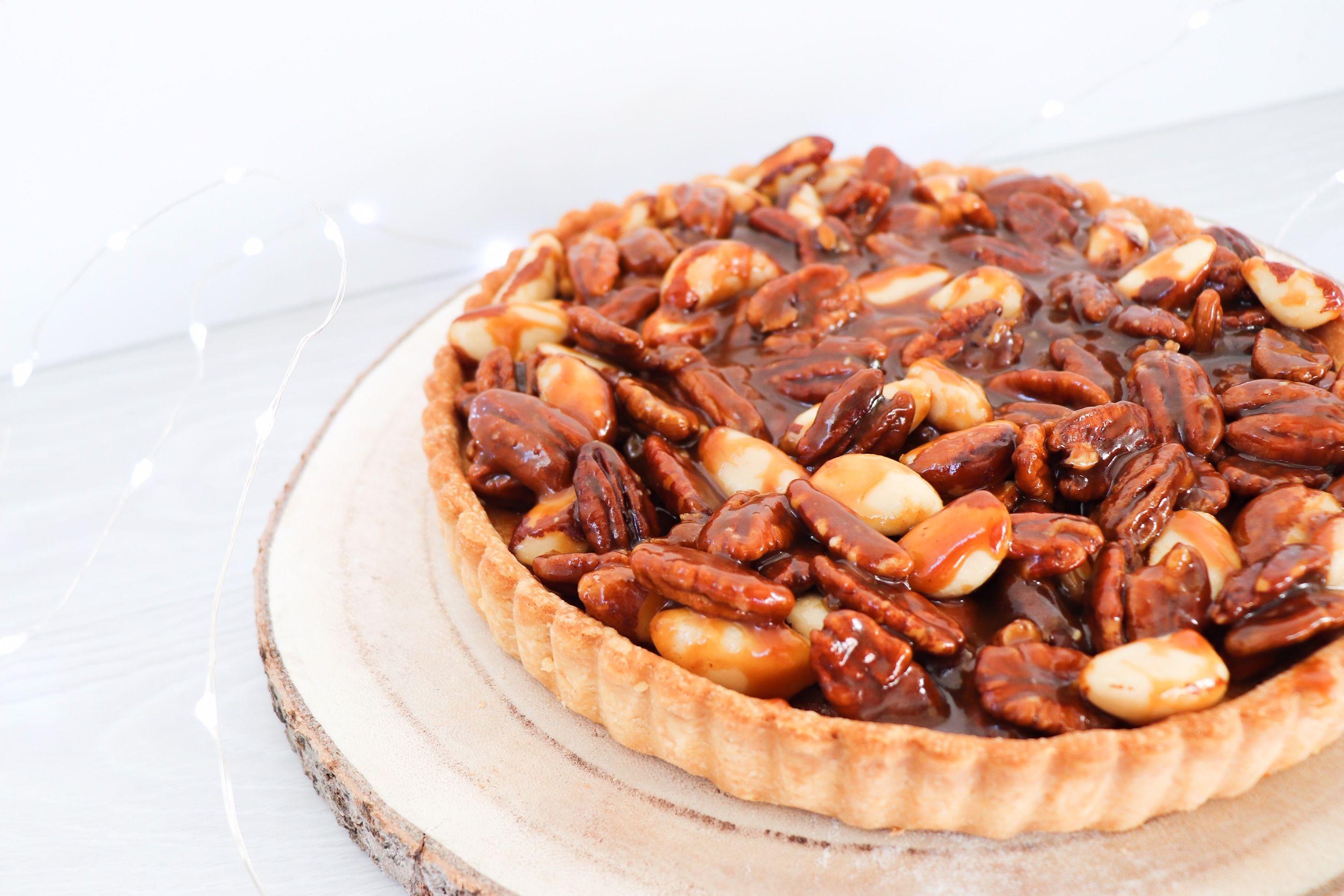 tarte aux noix caramélisées recette patisserie léa patisseries inspirées