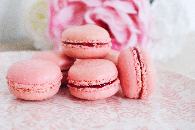 macarons framboise léa patisseries inspirées