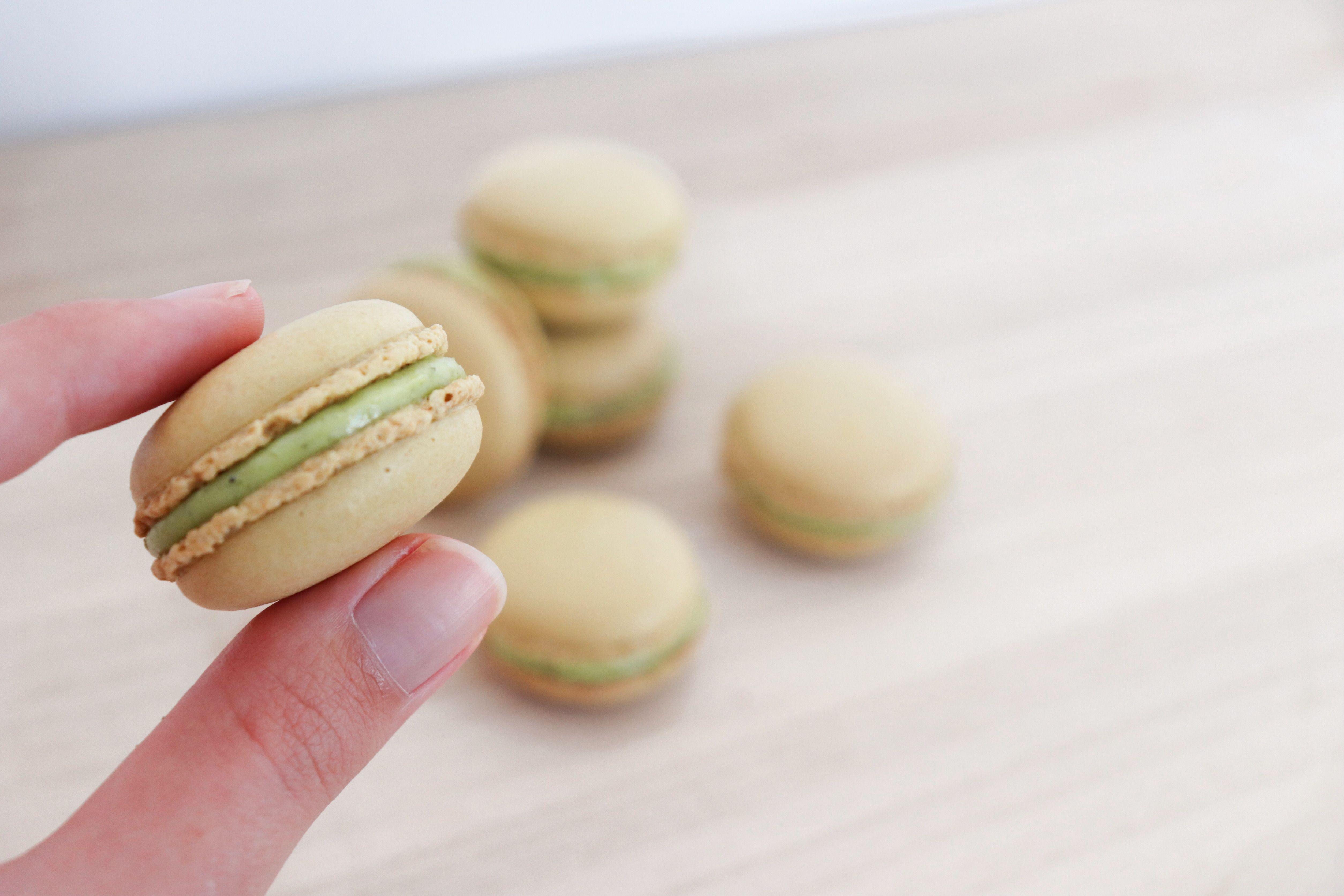 macarons pistache léa patisseries inspirées