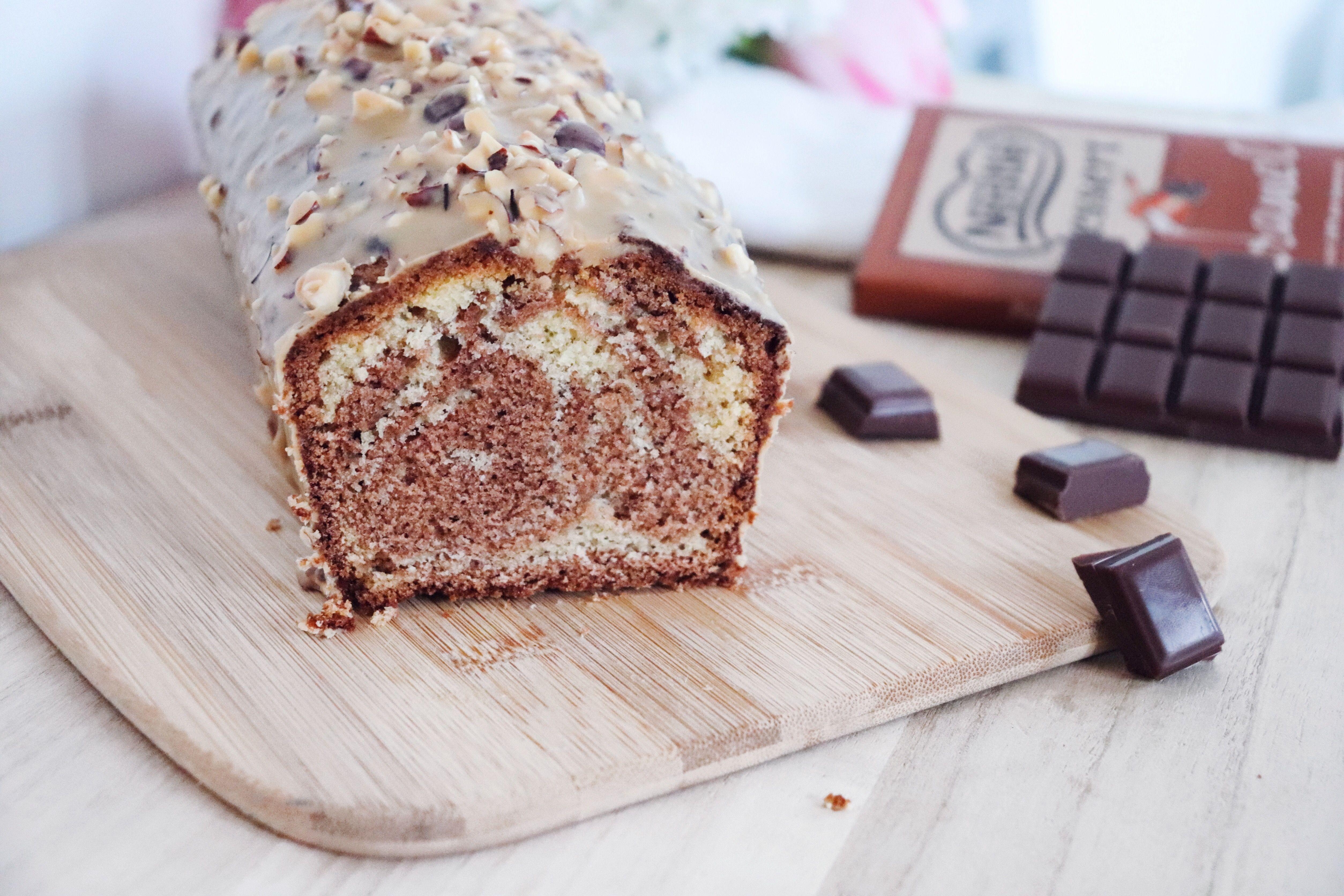 marbré chocolat caramel recette pâtisserie léa pâtisseries inspirées