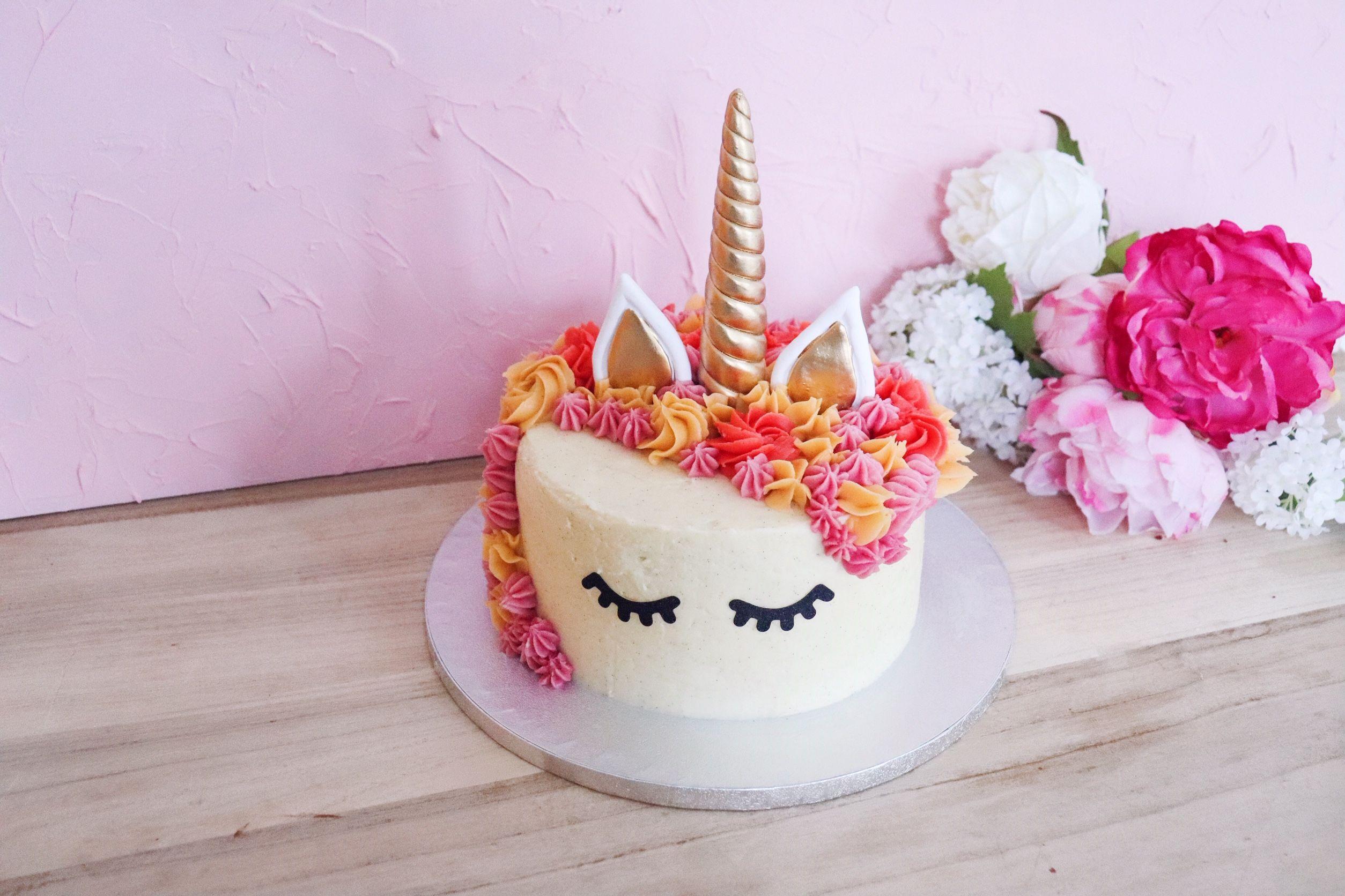 licorne cake fraise vanille recette patisserie léa patisseries inspirées