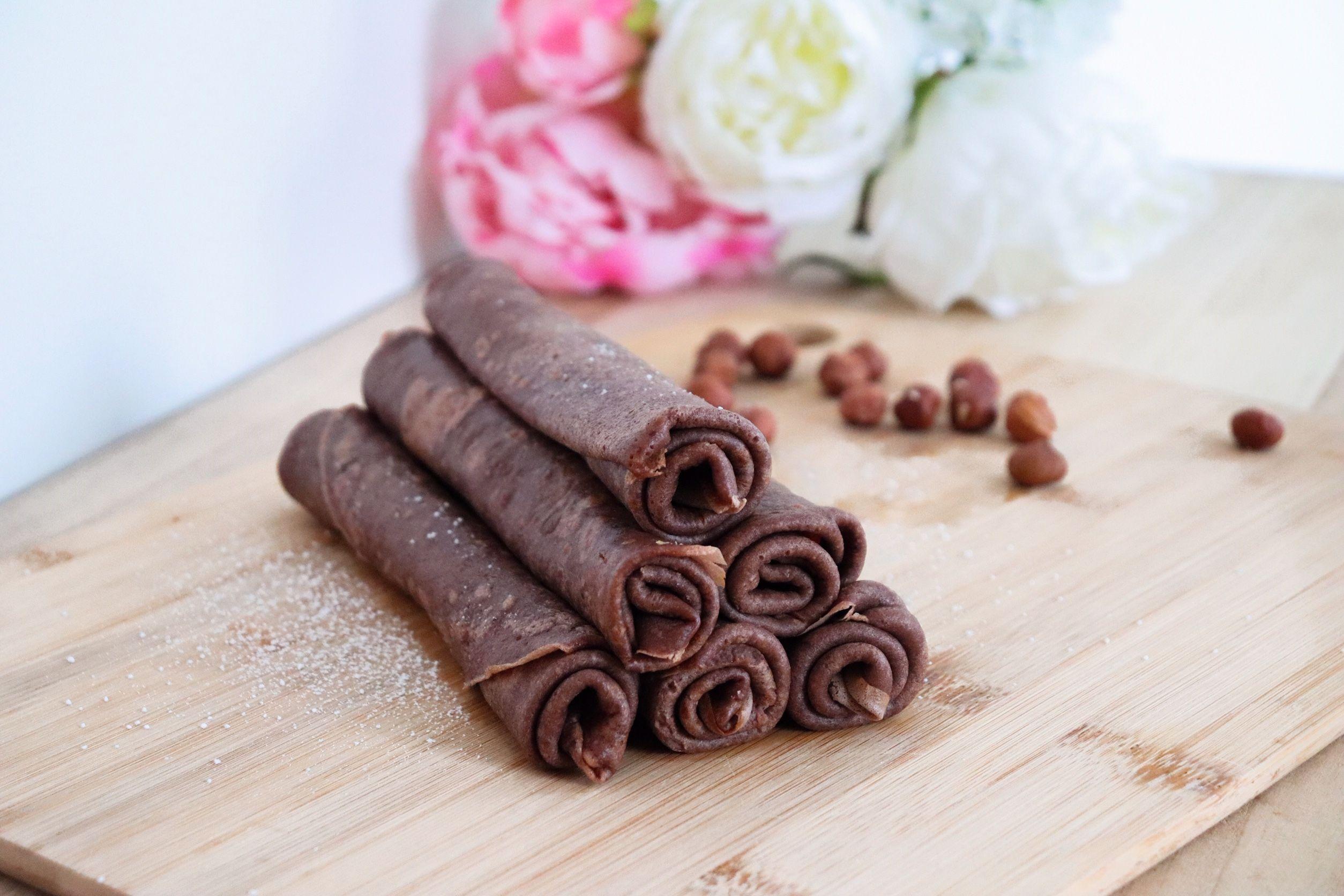 crêpes chocolat noisettes recette patisserie léa patisseries inspirées