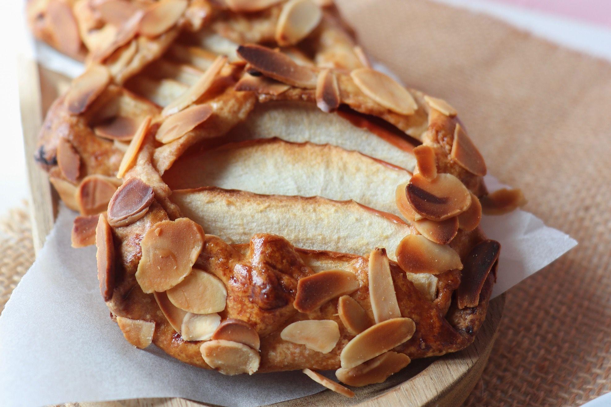 tartelettes rustiques pommes amandes recette patisserie léa patisseries inspirées