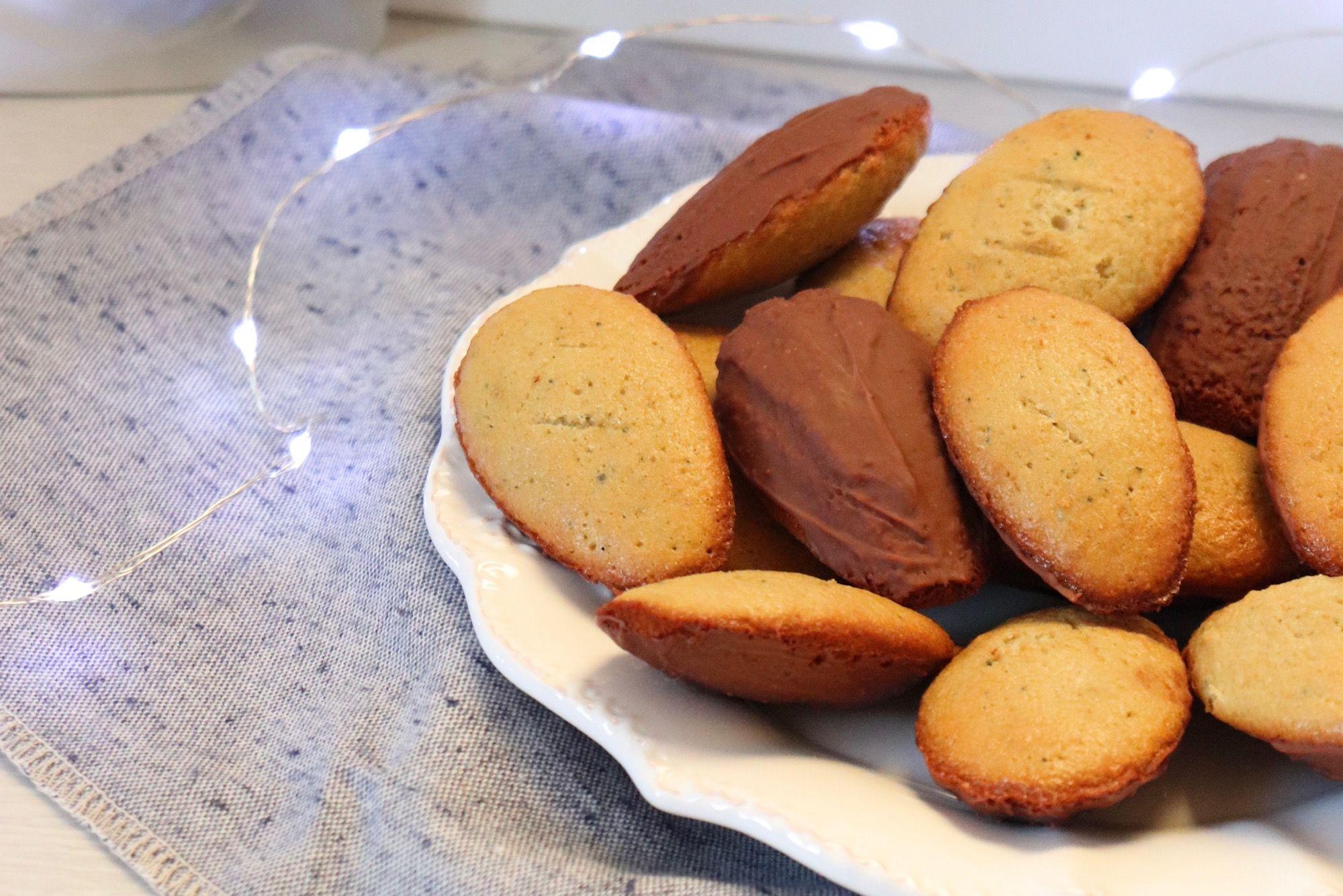 madeleines thé matcha vanille recette patisserie léa patisseries inspirées