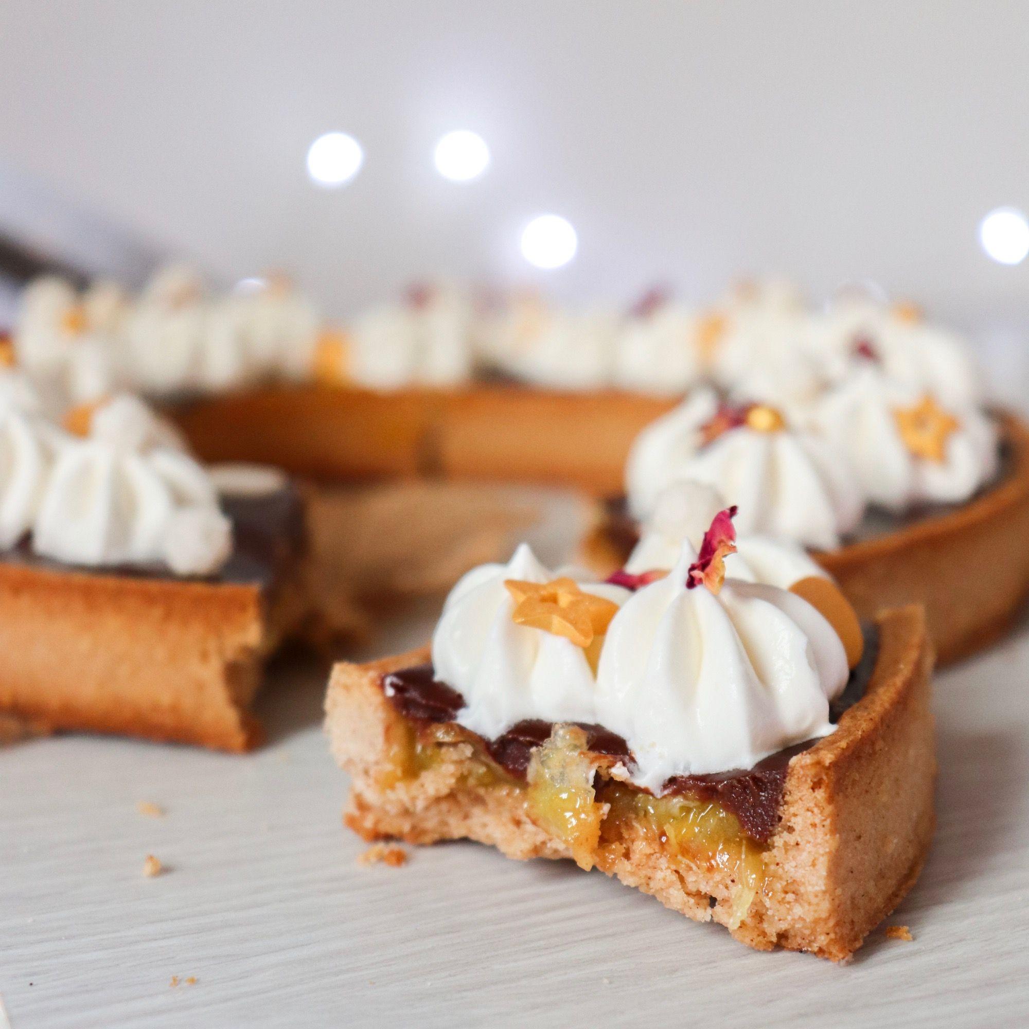 tarte de noël recette patisserie léa patisseries inspirées
