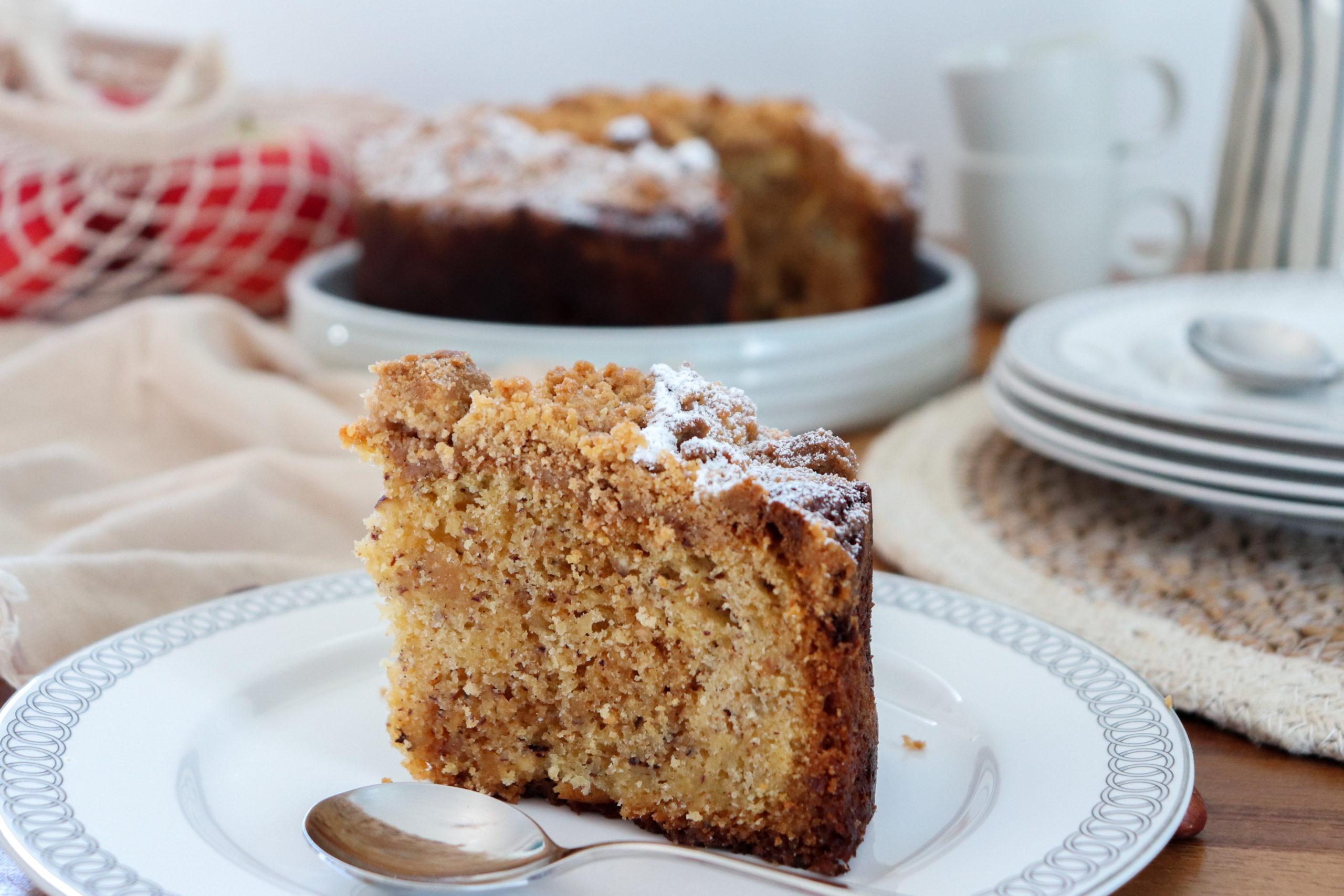 gâteau aux pommes caramélisées recette patisserie léa patisseries inspirées